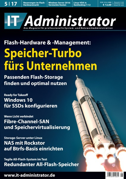 Ausgabe Mai 2017 Flash-Hardware & -Management