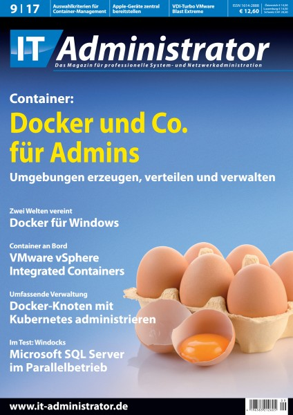 Ausgabe September 2017 Container