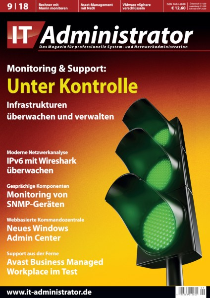 Ausgabe September 2018 Monitoring & Support