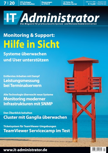 Ausgabe Juli 2020 Monitoring & Support