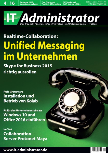 Ausgabe April 2016 Realtime-Collaboration