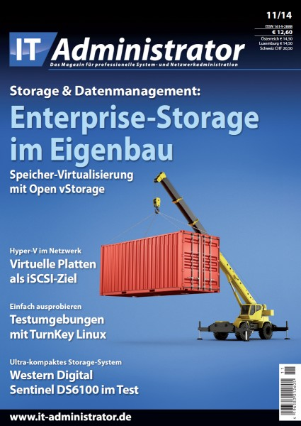 Ausgabe November 2014 Storage & Datenmanagement