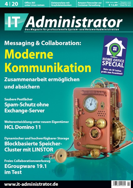 Ausgabe April 2020 Messaging & Collaboration