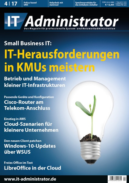 Ausgabe April 2017 Small Business IT