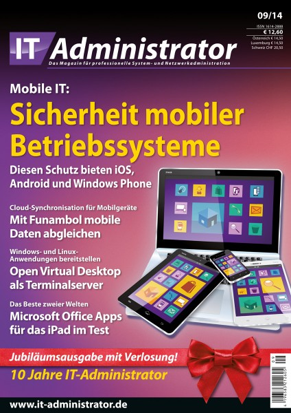 Ausgabe September 2014 Mobile IT